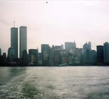 new york sky line July 2001 by kimmie79