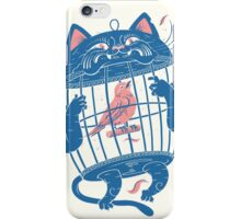 The Cat-Cage iPhone Case/Skin
