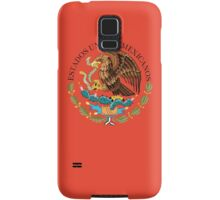 Close up of seal in the national flag of Mexico Samsung Galaxy Case/Skin