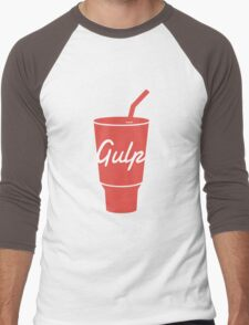 Gulp logo Men's Baseball ¾ T-Shirt