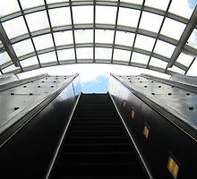 Metro Rail Escalator Canopy  by arushton