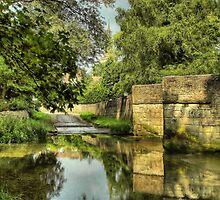 Geddington Bridge and Ford by SimplyScene