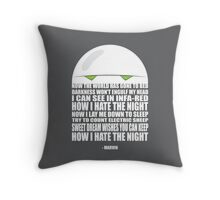 Marvin's Prayer Throw Pillow