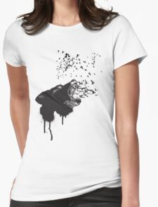 Killing Lies Womens Fitted T-Shirt