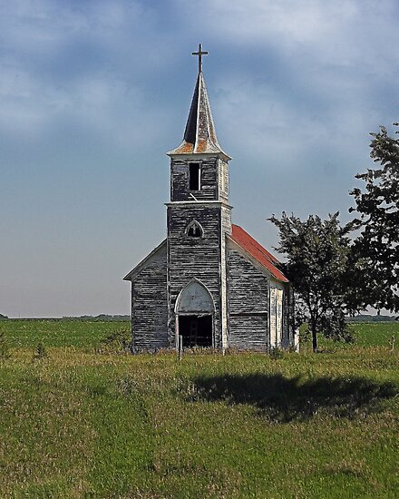 Little Church On The Prarie by CarolM