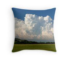 Caburn clouds Throw Pillow