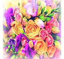 Bouquet of Roses Photographic Print