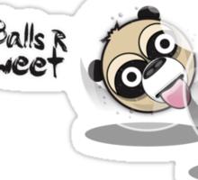 Monkey Balls Sticker