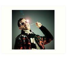 Mr. Bubblegum Art Print