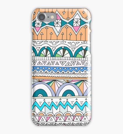 Tribal Lines #4 iPhone Case/Skin