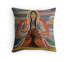 Sacred Feminine Throw Pillow