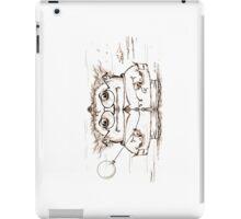 Windblown illustration for dreamers iPad Case/Skin
