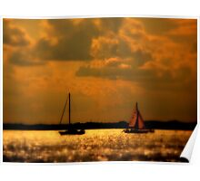 WE SAILED IN  A   GOLDEN    ......  Poster
