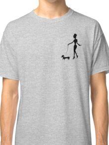 Flaunting The Pooch (teal) Classic T-Shirt