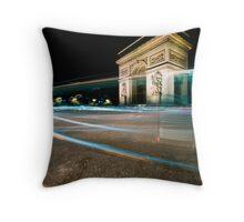Arc de Triomph Throw Pillow