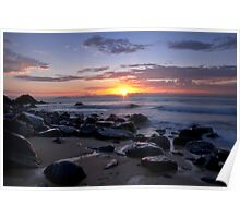 Dawn at Lamberts Beach 2 Poster