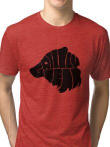 Grizzlybear [Black] Tri-blend T-Shirt
