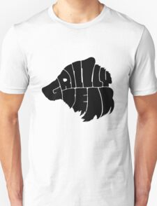 Grizzlybear [Black] Unisex T-Shirt