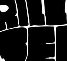 Grizzlybear [Black] Sticker