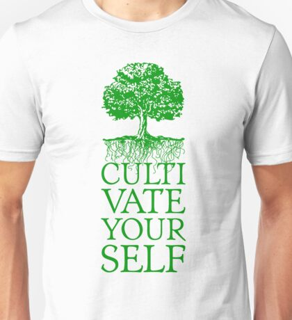 Cultivate Yourself Tree Unisex T-Shirt