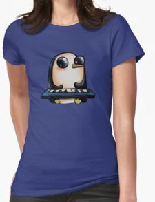 Gunter with Keyboard Womens Fitted T-Shirt