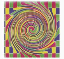 Bright Blocks checkered twirl  Kids Clothes