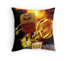 Bad Night On The Midway Throw Pillow