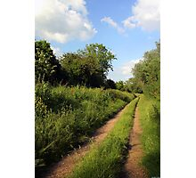 Holywell Footpath Photographic Print