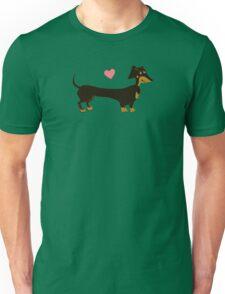 Just Peachy - Dachshund Sausage Dog Unisex T-Shirt