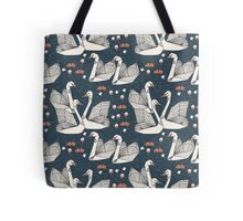 Origami Swans by Andrea Lauren Tote Bag