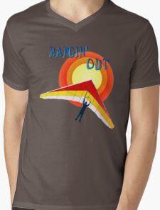 Hangin' Out Mens V-Neck T-Shirt