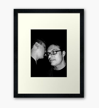 Who Knows? Framed Print