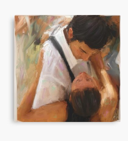 Tango Passion/homage to the masters Canvas Print