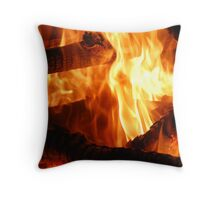Winter's Warmth Throw Pillow
