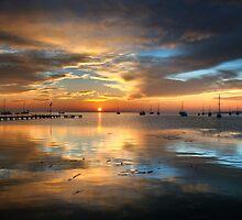 Winter Sunrise by Heather Prince