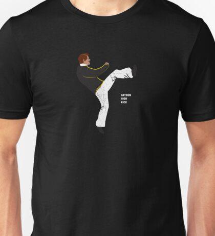 Hayden High Kick (V2) Unisex T-Shirt