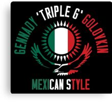 Gennady Golovkin - Mexican Style (Non-Letterpress) Canvas Print