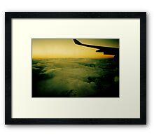 away Framed Print