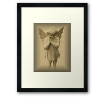 Little Angel Framed Print