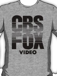CBS Fox Video 1980s (black) T-Shirt