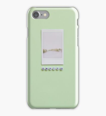 Empty iPhone Case/Skin