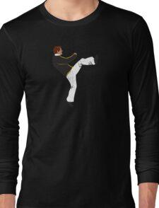 Hayden High Kick (V3) Long Sleeve T-Shirt