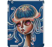 Jellyfish Head - pop surrealism illustration iPad Case/Skin