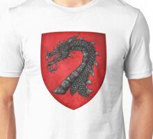 Gules A Dragon's Head Erased Sable Unisex T-Shirt