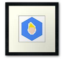 Retro Chris Kirkman Framed Print