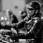 Biker Chick by David Friederich