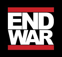 END WAR - RUN DMC Parody Logo by fearandclothing