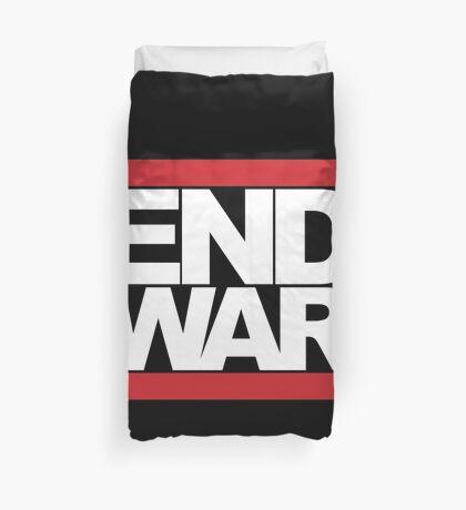 END WAR - RUN DMC Parody Logo Duvet Cover