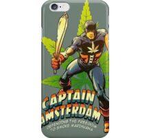Captain Amsterdam iPhone Case/Skin