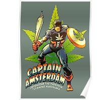 Captain Amsterdam Poster
